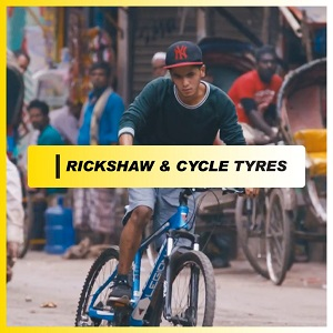 RICKSHAW AND CYCLE TYRES